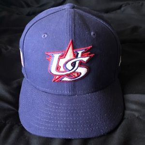 Team USA MLB baseball fitted hat